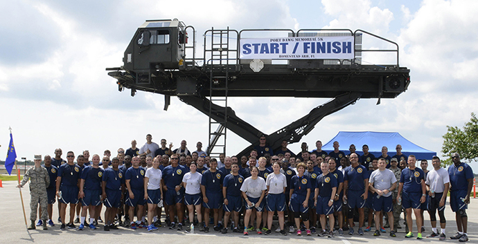 Memorial run honors fallen APS Airmen