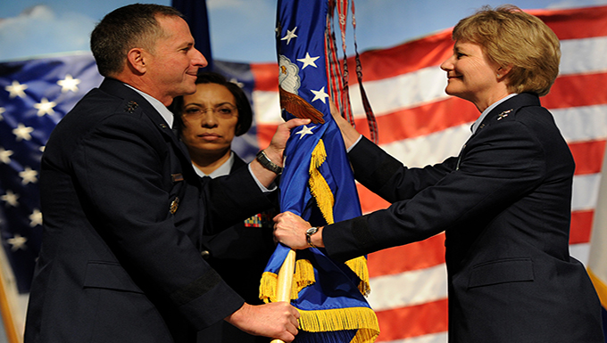 Breaking barriers: Miller assumes command