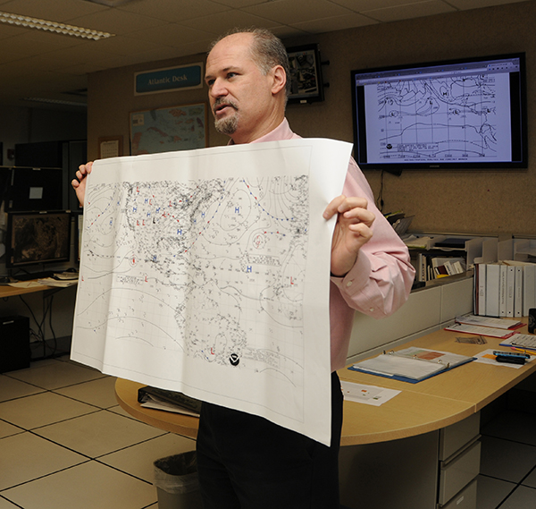 482nd Emergency Operations Center visited National Weather Service
